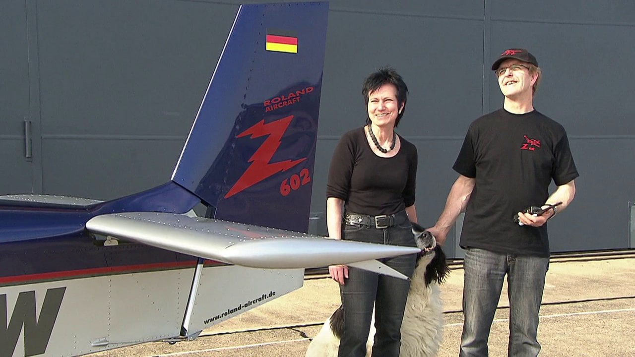 Roland Aircraft Film