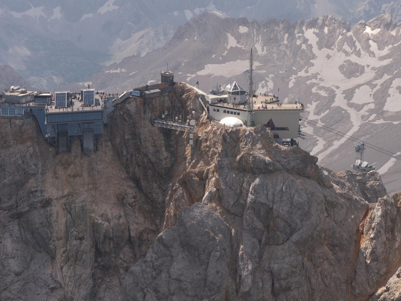 2020 D-MROI Hitzeflug zur Zugspitze am 1.August 2020-08-02 - Rundflug von Deggendorf aus > 30 C, immer wieder Thermik zum motorschonenden Steigen genutzt.