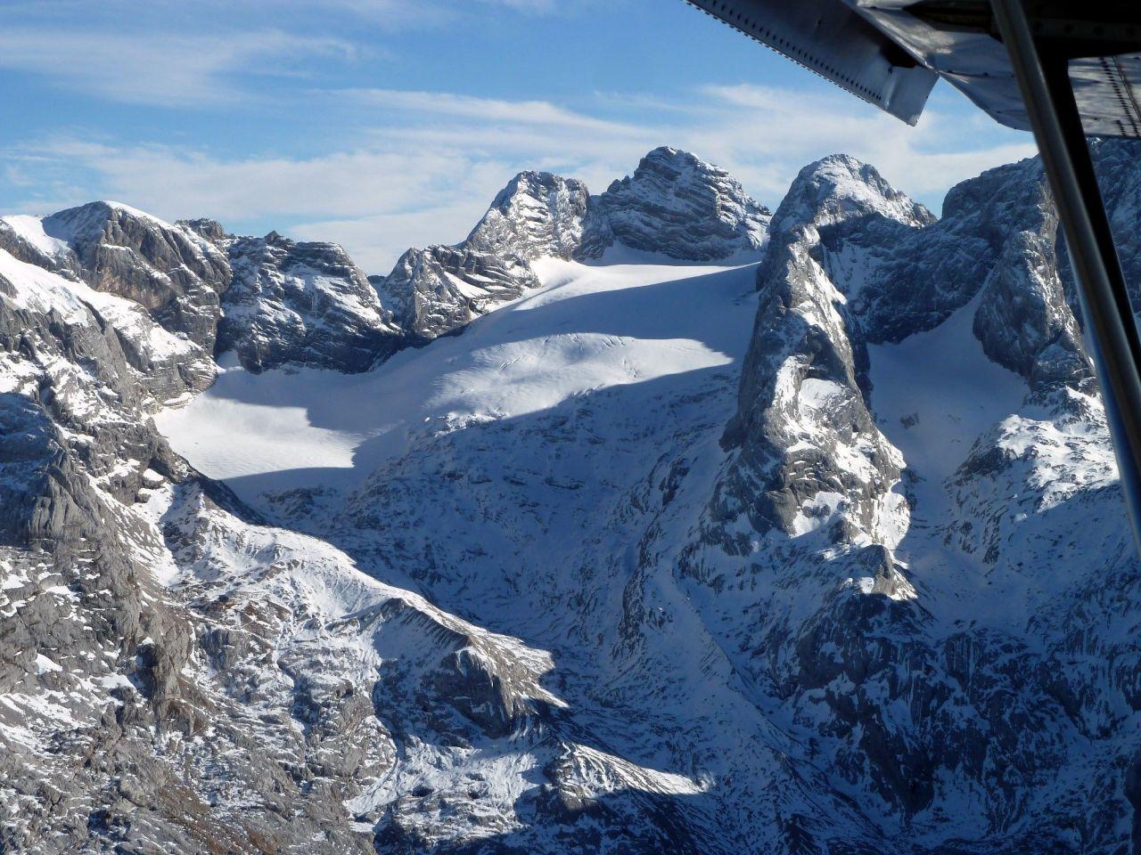 Alpenflug_Dachstein_1